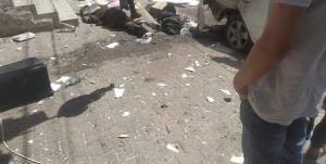 صهیونیستها یک خودروی غیرنظامی را در غزه هدف قرار دادند