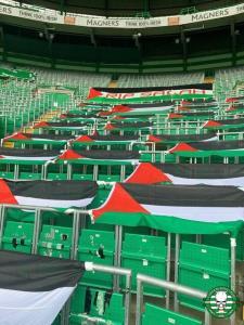 حمایت باشگاه سلتیک از مردم مظلوم فلسطین
