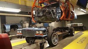 خط تولید خودروهای «کادیلاک» در موزه دیترویت