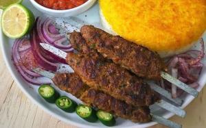 «کباب گوشت و بلغور»؛ کبابی سرشار از �یبر