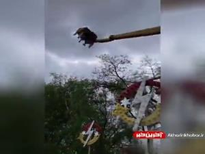 حادثه دردناک در شهربازی اوکراین