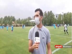 گزارش اختصاصی از تمرین تیم استقلال
