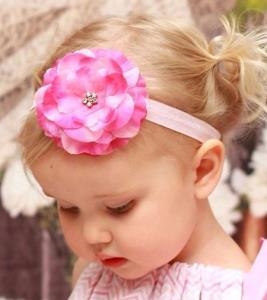 آموزش کامل «هدبند» گل رز برای کودک دلبندتان