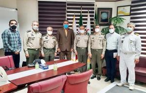 دیدار رییس سازمان تربیتبدنی ارتش با رییس فدراسیون ورزشهای همگانی کشور