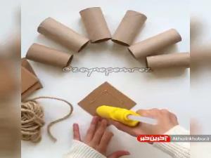 ایده ای ساده و جذاب برای ساخت کاردستی کودکانه