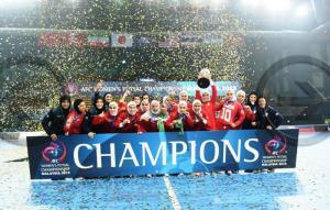 سومین سالگرد قهرمانی «ملکههای قهرمان» در جام ملتها