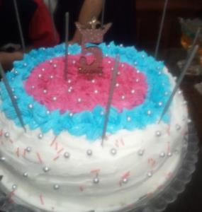 از شما/کیک تولد