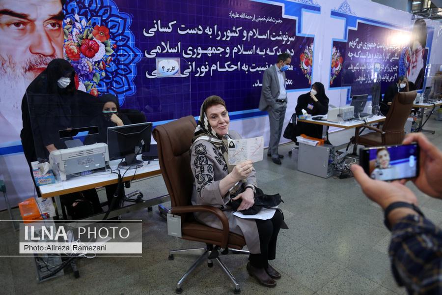 عکس/ پنجمین داوطلب خانم ریاست جمهوری