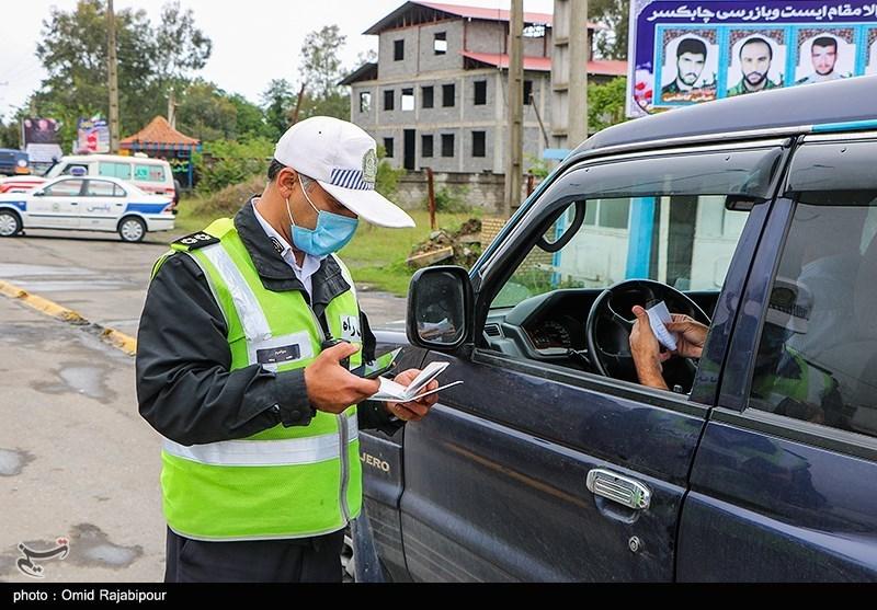 عکس/ محدودیت تردد در گیلان