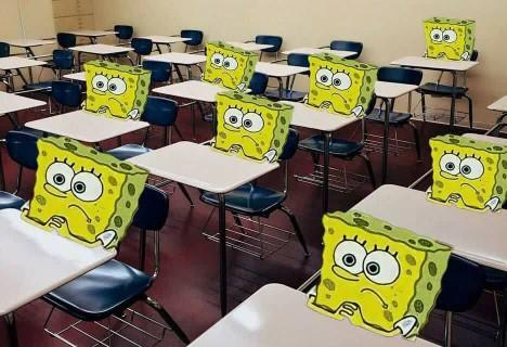 وضعیت بچه های کلاس بعد از عصبانی کردن معلم مهربونشون😐😂