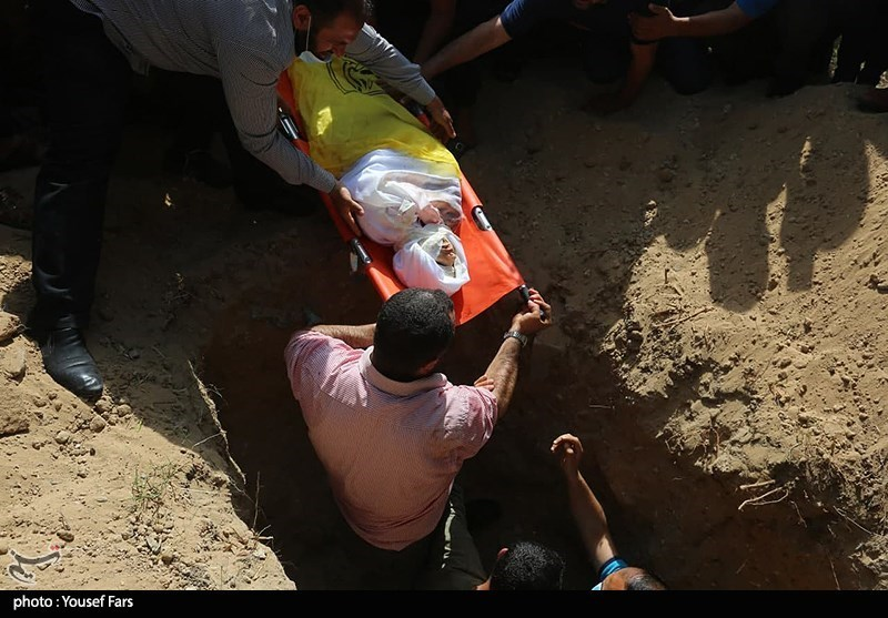 عکس/ تشییع شهدای حملات تجاوزکارانه رژیم صهیونیستی