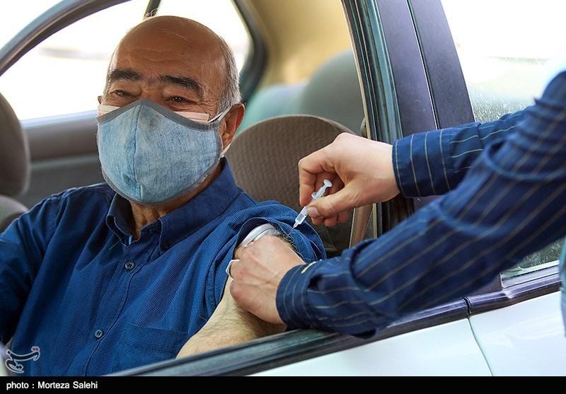 عکس/ واکسیناسیون سالمندان در اصفهان