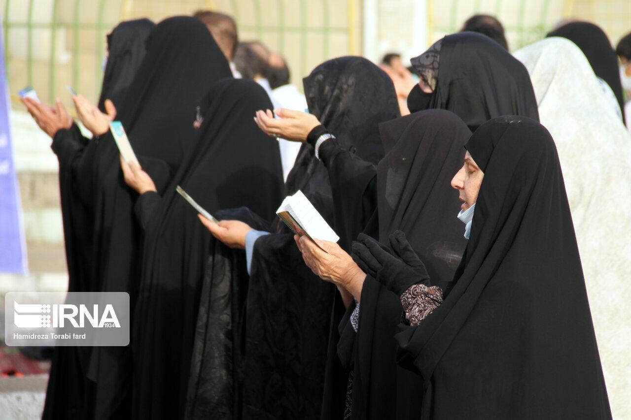 اقامه نماز عید سعید فطر در اهواز