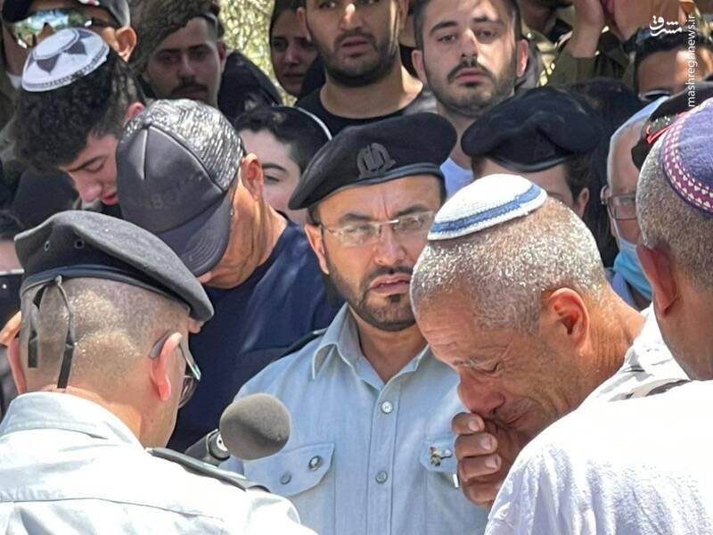 عکس/ مراسم دفن نظامی صهیونیست در سرزمین های اشغالی فلسطین
