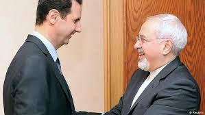 دیدار ظریف با بشار اسد در دمشق