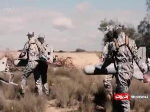 نخستین تصاویر از عملیات پهپادی امروز حماس علیه رژیم صهیونیستی