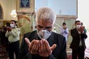 اقامه باشکوه نماز عید سعید فطر در حرم مطهر رضوی