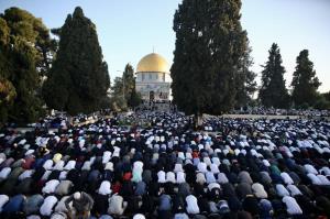 برگزاری نماز عید فطر در مسجد الاقصی