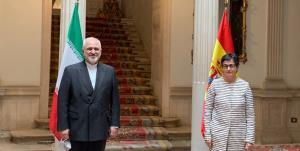 ظریف با وزیر خارجه اسپانیا دیدار کرد