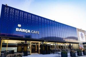 رونمایی از کافه لاکچری باشگاه بارسلونا