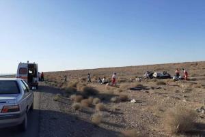 تصادف در سراوان ۲ کشته و ۵ مجروح برجا گذاشت