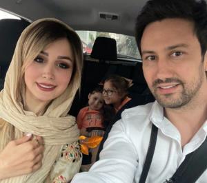 چهره ها/ سلفی خانواده استخری در روز عید