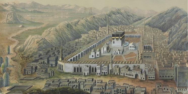 مکه ۲۳۰ سال پیش چه شکلی بود