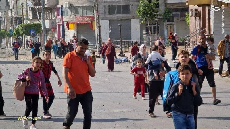 عکس/ حال و روز مردم غزه پس از تخریب خانه هایشان