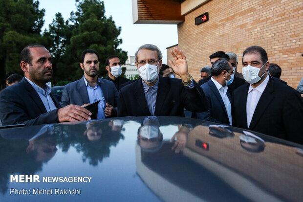مهر: ستاد انتخاباتی لاریجانی با محوریت «تاجگردون» و «باهنر» تشکیل شد
