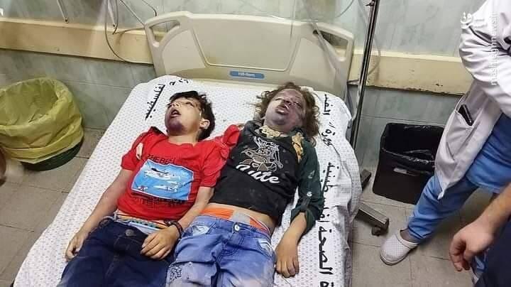 شهادت دو کودک بی گناه غزه به دست رژیم غاصب اسرائیل