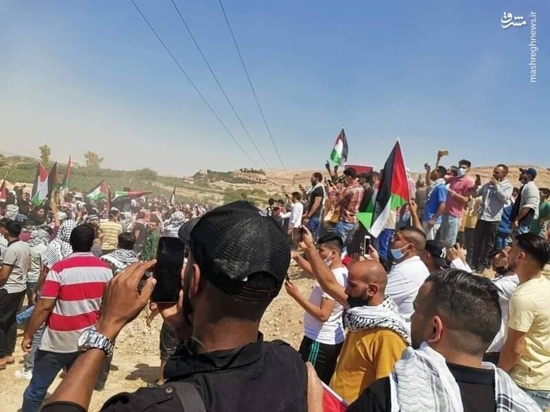 اردنیها خود را به مرز فلسطین رساندند