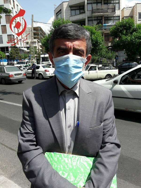 عکس/ داوطلبی که با پلاک مخدوش آمد