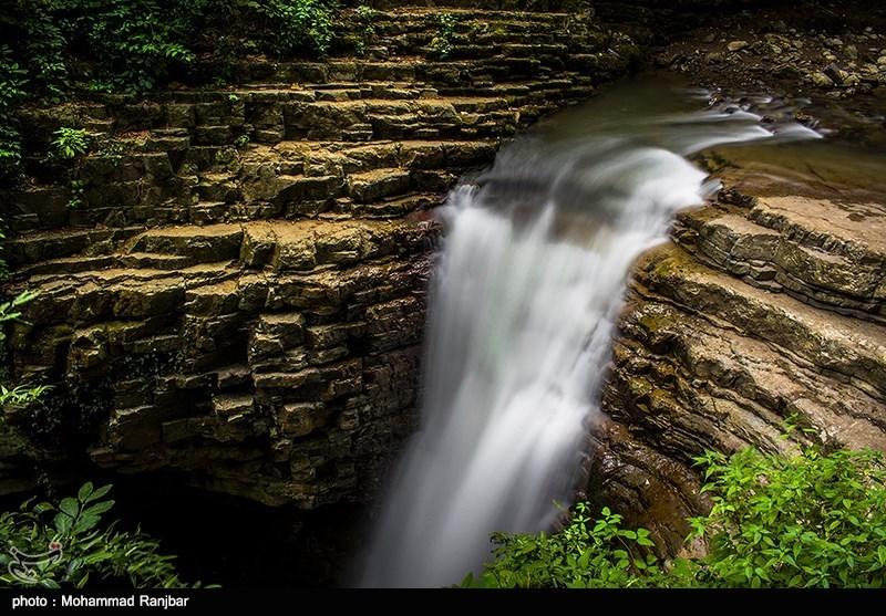آبشار دیدنی ویسادار در گیلان
