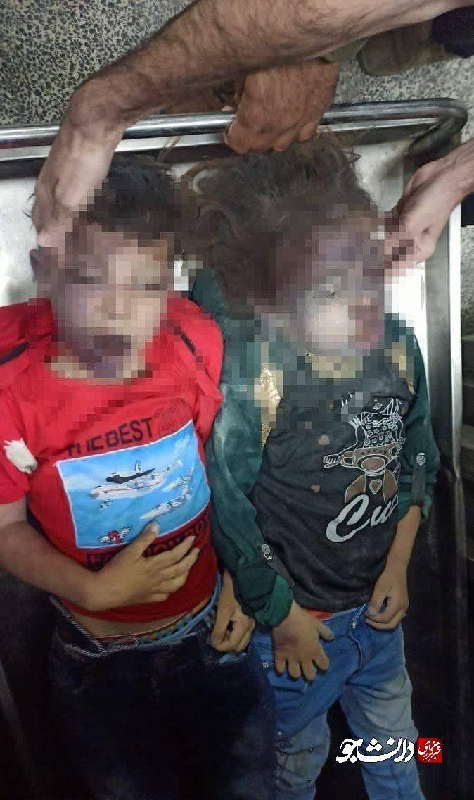 عکس/ گوشه ای از تصاویر جنایات دیشب صهیونیست ها