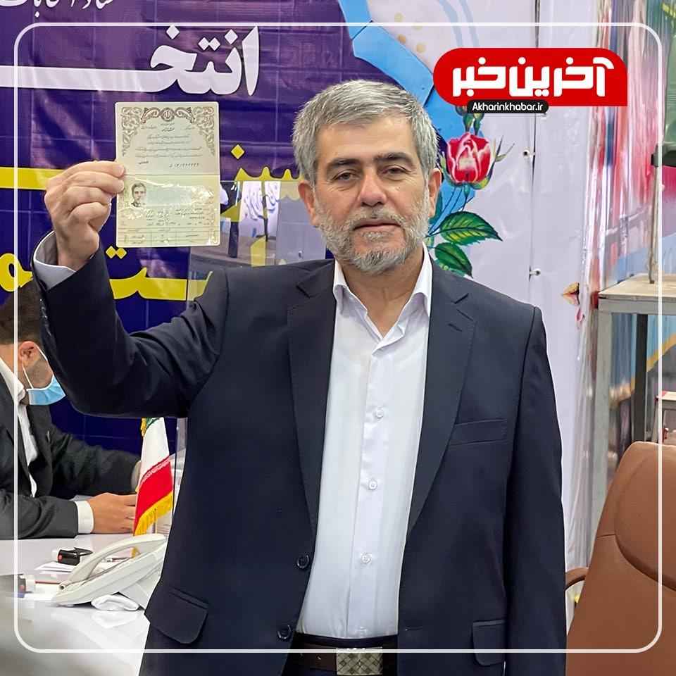 عکس/ فریدون عباسی نامزد انتخابات شد