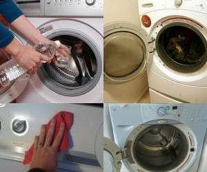 تمیزی و رفع بوی بد ماشین لباسشویی