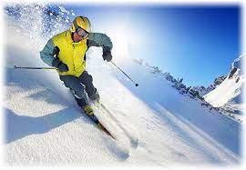 اسکی کردن روی شیب 90 درجه!