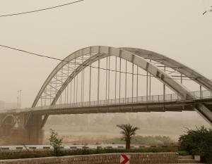 پیشبینی گردوغبار در مناطق غربی، جنوبی و مرکزی خوزستان