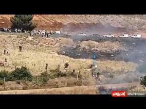 حصار امنیتی میان مرز لبنان و فلسطین اشغالی شکسته شد