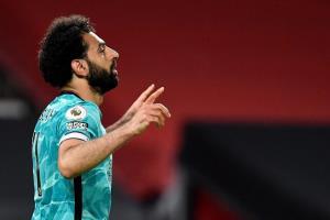 محمد صلاح دومین ۳۰ گله این فصل فوتبال انگلیس