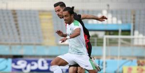 توقف شاگردان منصوریان مقابل تیم رحمتی در نیمه اول