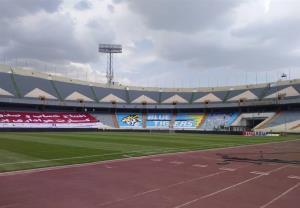 حالوهوای ورزشگاه آزادی در آستانه برگزاری دربی