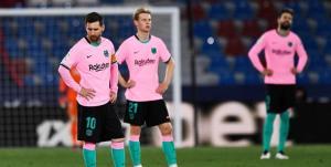 زلزله در بارسلونا؛ اخراج 14 بازیکن از نیوکمپ!