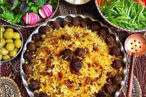 طرز تهیه قنبر پلو خوشمزه و مجلسی غذای سنتی شیرازی ها