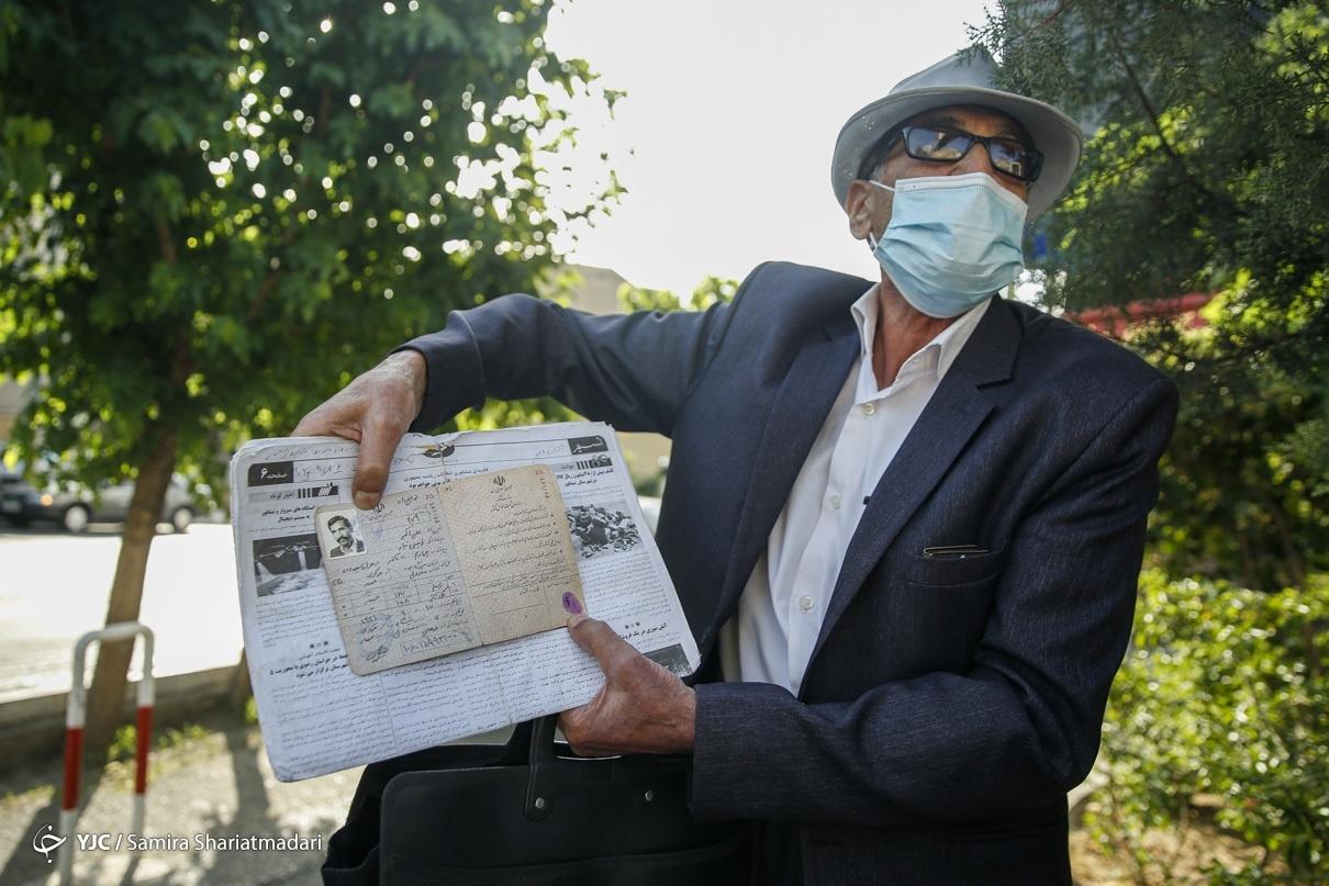 عکس/ کاندیدای تکراری برای ثبت نام به وزارت کشور آمد