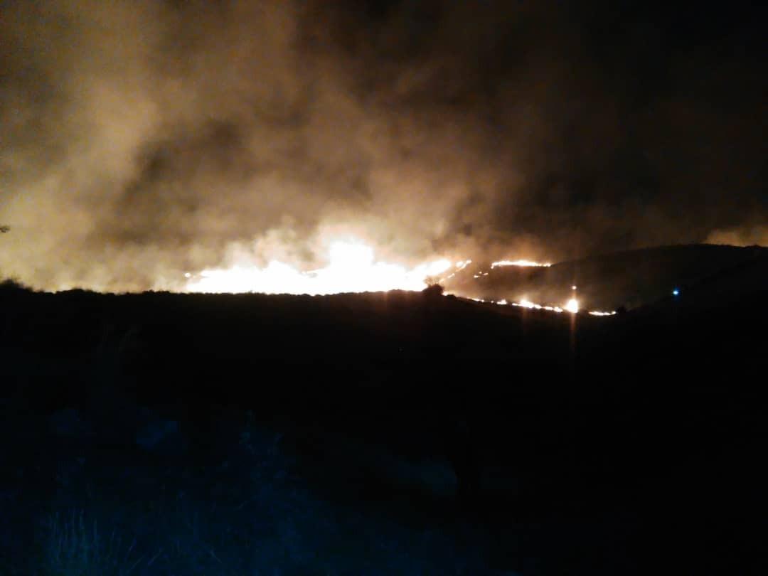 آتشسوزی در پارک ملی بمو مهار شد