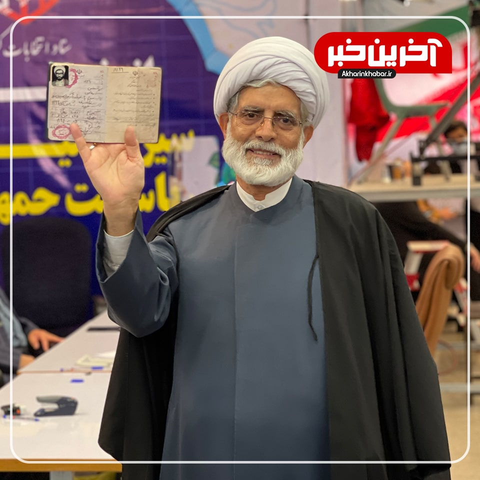 عکس/ ثبت نام محسن رهامی فعال سیاسی اصلاحطلب در انتخابات 1400