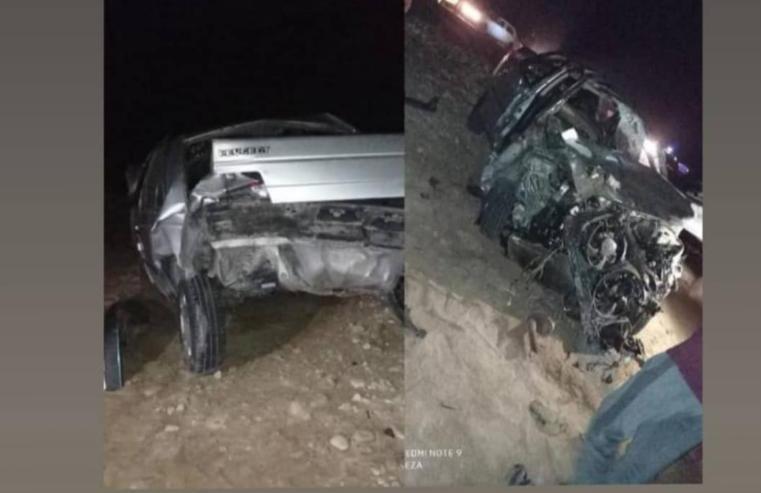 واژگونی مرگبار یک خودرو در پارسیان