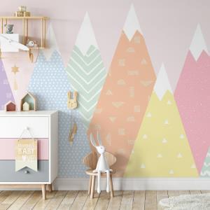 دیوار اتاق نوزاد را خودتان رنگ بزنید