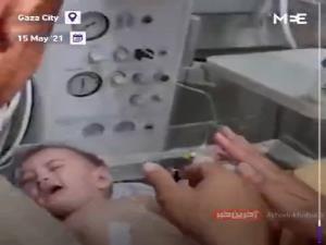 زندهماندن معجزهآسای نوزادی در غزه پس از بمباران اسرائیل